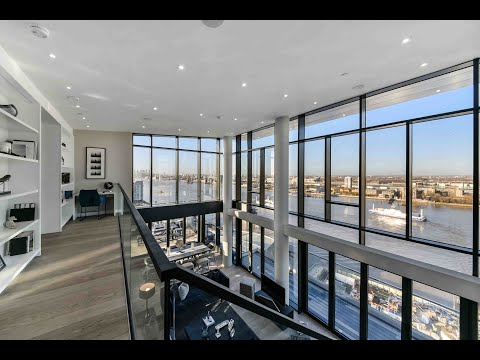 Walkthrough of Our Latest Luxury London Penthouse with Incredible River Views