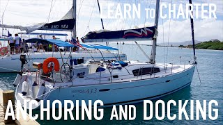 Gambar cover Learn to Bareboat Charter:  Anchoring and Docking