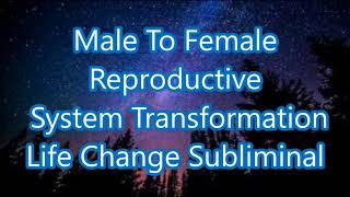 Male To Female Reproductive System Transformation - Life Chang…