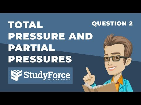 ⚗️ Total Pressure and Partial Pressures (Question 2)