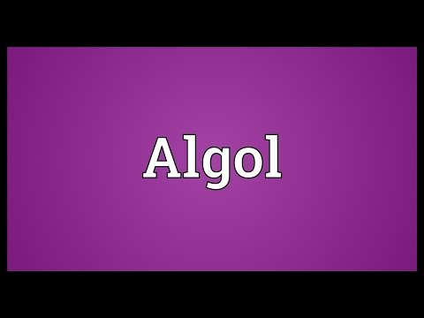 Algol Meaning