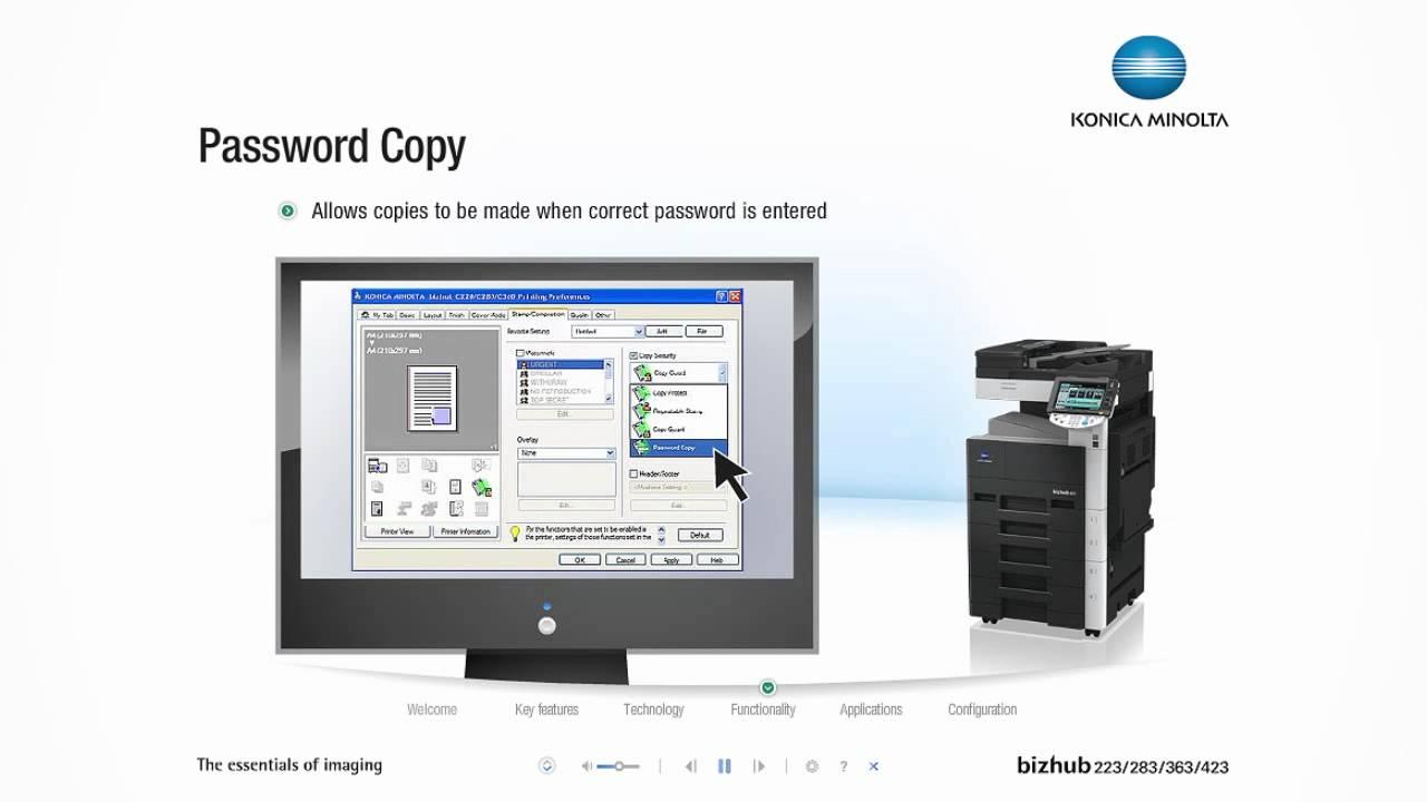 Konica Minolta Bizhub 283 MFP PostScript Windows 8 X64 Driver Download