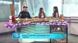 Matua's Sushi Bar & Islander Grill, Featured On Nbc 7 San Diego's The Goods