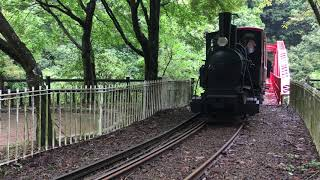 マイントピア別子の観光鉱山列車 Sightseeing railway of Mintopia Bessi, Ehime Japan (2018.9)