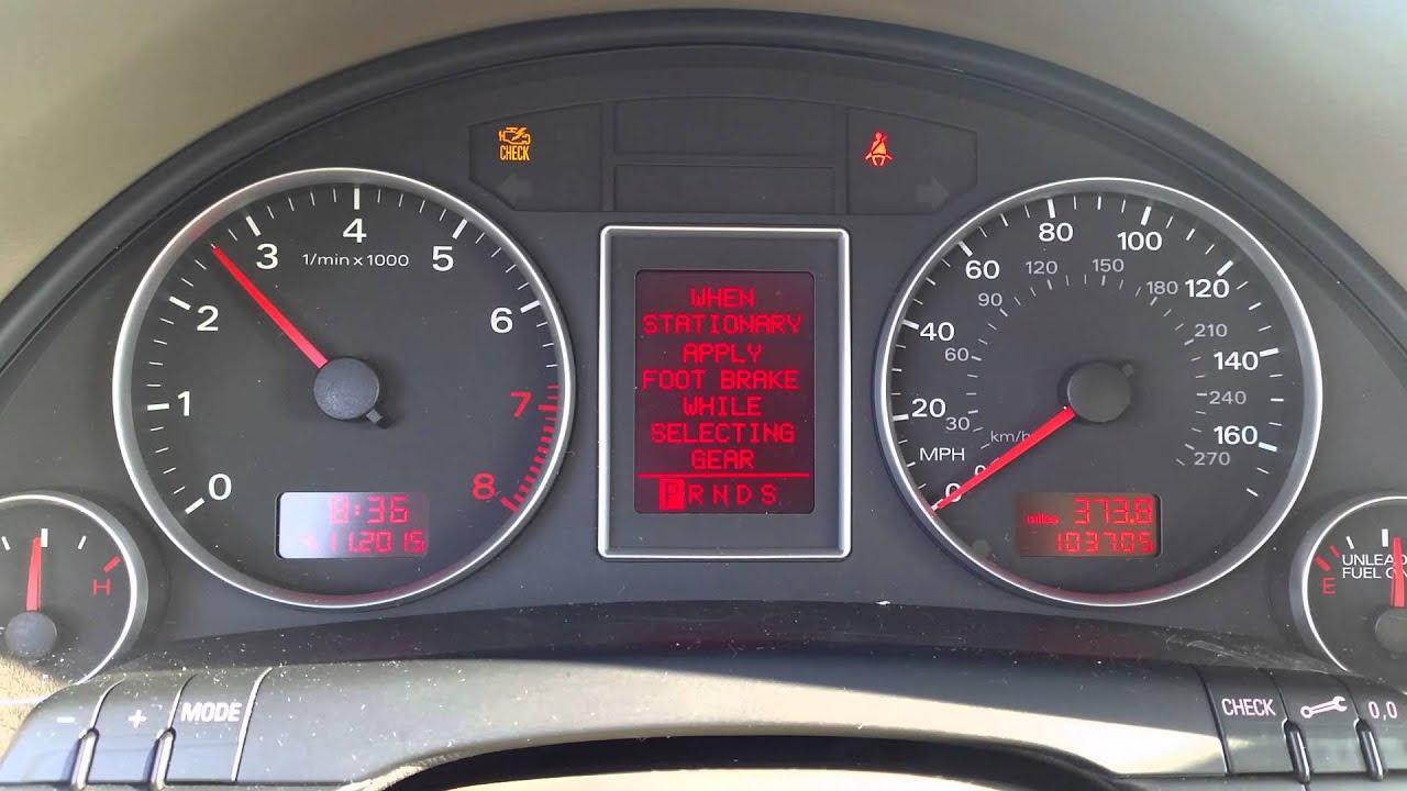 Audi A4 B7 2 0t Quattro Crankshaft Position Sensor