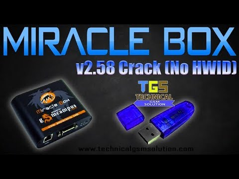 Miracle Box v2.58 Without HWID Cracked Software - Technical GSM Solution