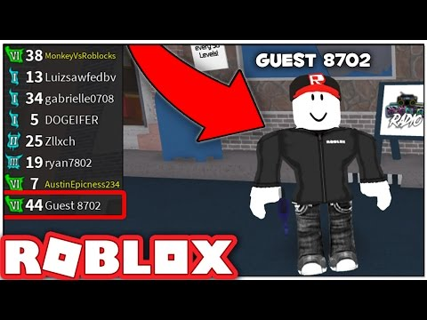 THE BEST GUEST EVER IN ROBLOX ASSASSIN!! (LIVE)