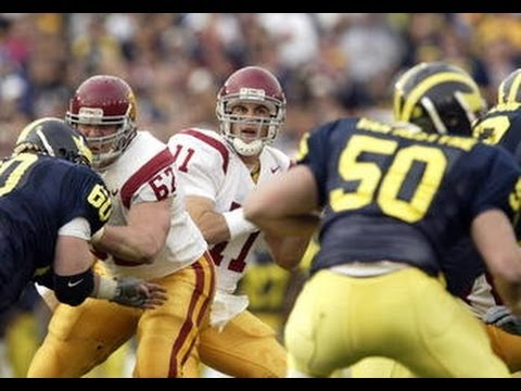 2004 Rose Bowl  #1 USC (11-1) vs #4 Michigan (10-2) part 1 of 2