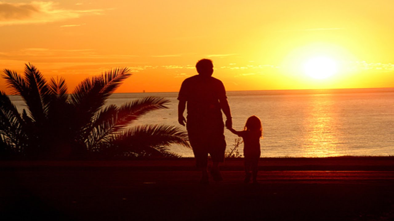 padre y hija