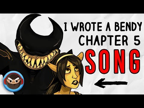 """My BENDY AND THE INK MACHINE SONG """"The End"""" (feat. Thora Daughn)"""