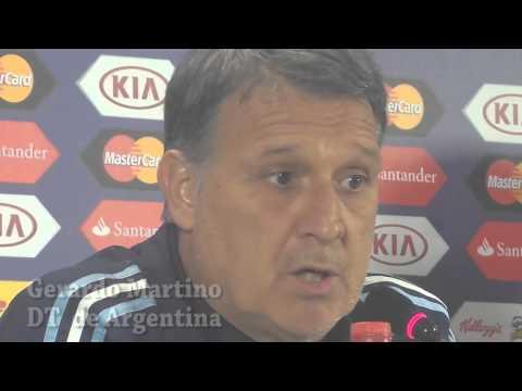 Gerardo Martino  - DT de Argentina