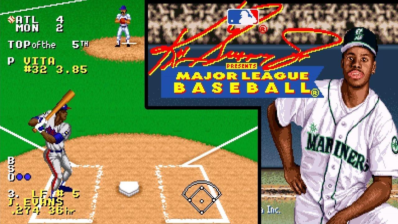 0b47459d18 Ken Griffey Jr. Presents Major League Baseball ... (SNES) 60fps ...