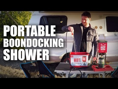 GGC - 53 - Boondocking with the Zodi Portable Hot Shower