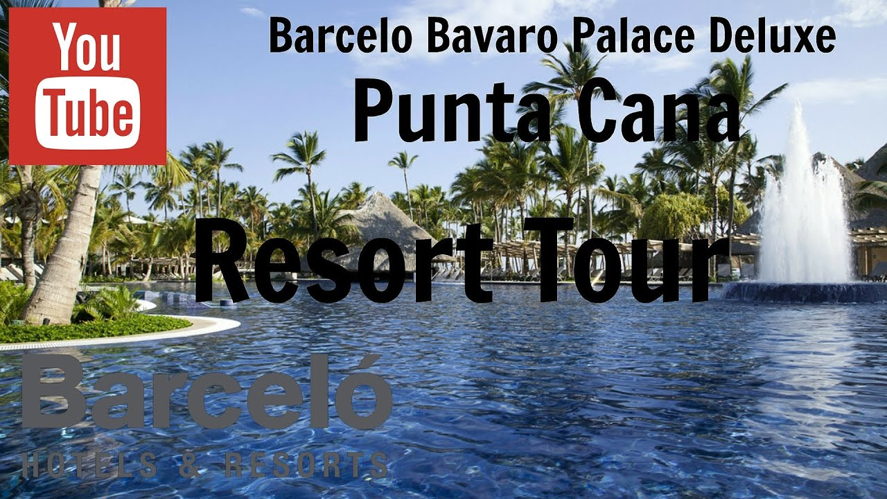 barcelo bavaro palace deluxe feb 2013 youtube. Black Bedroom Furniture Sets. Home Design Ideas