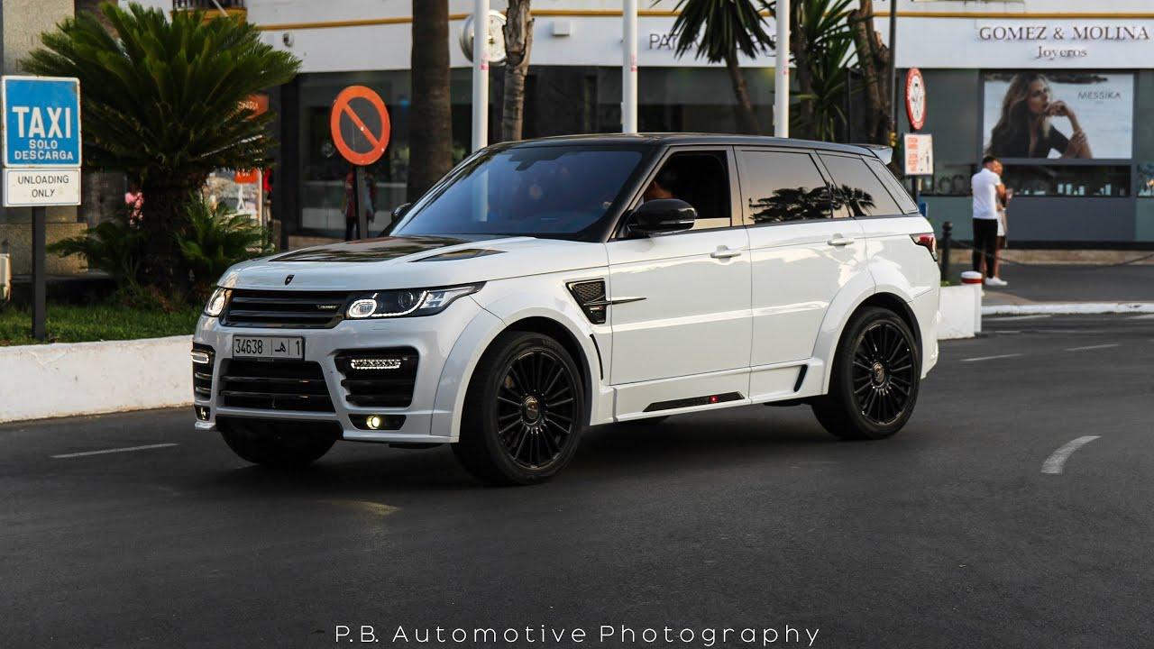 2016 Land Rover Range Rover Sport >> Mansory Range Rover Sport SVR Start Up and Sound in Puerto Banús - YouTube