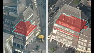 Automatic Registration of Oblique Aerial Images with Cadastral Maps