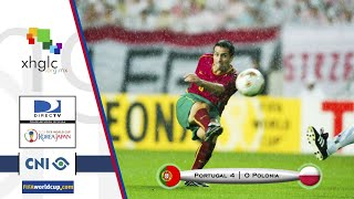 Corea Japón 2002 (Portugal 4 - Polonia 0)