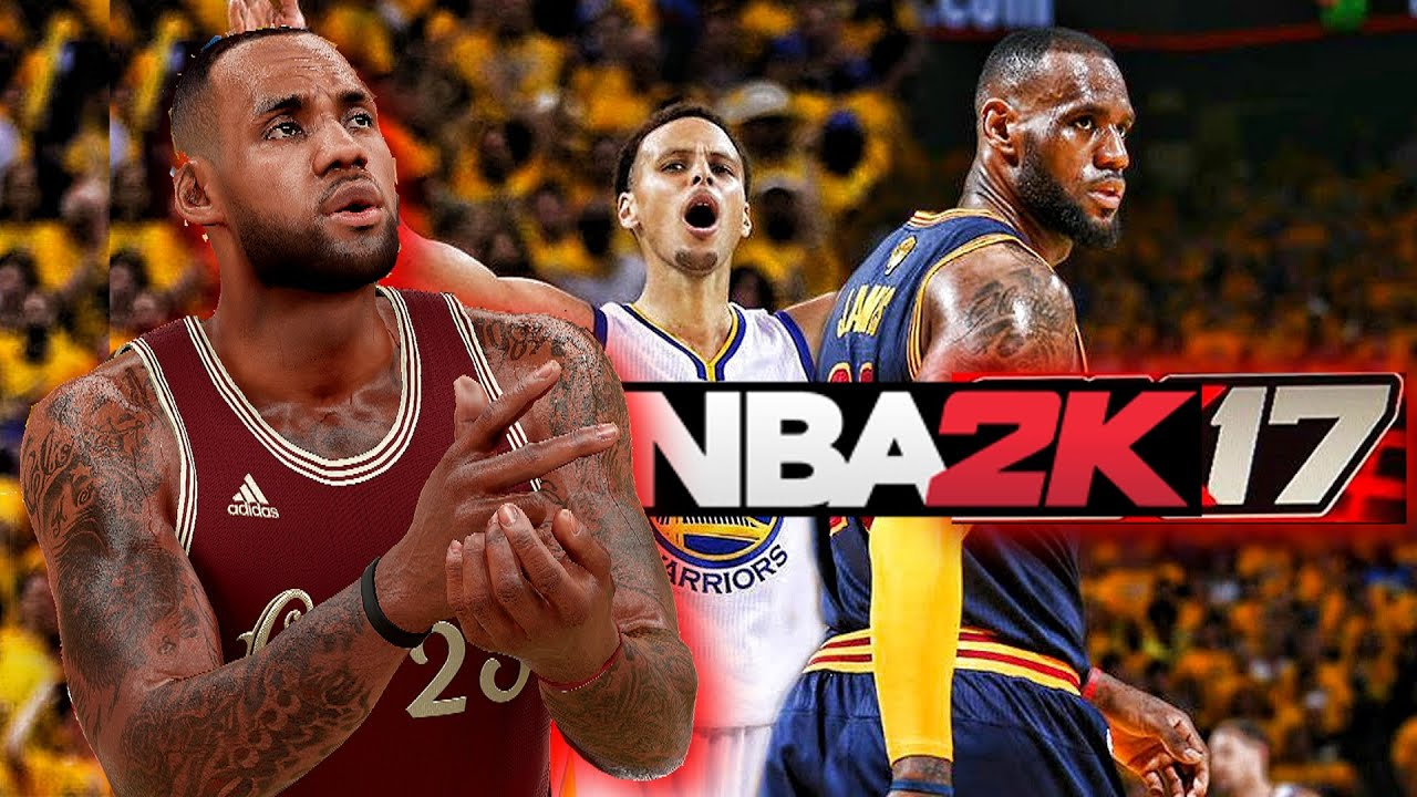 NBA 2K17 LeBron James NBA Finals 2016 Vs Stephen Curry ...
