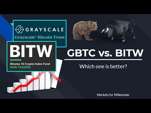 GBTC Vs BITW: Which Is Better?
