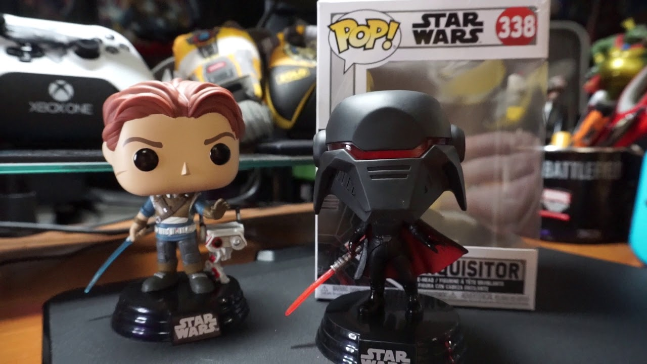 Funko Pop Star Wars Jedi Fallen Order Second Sister Inquisitor Hot Stuff 4 Geeks