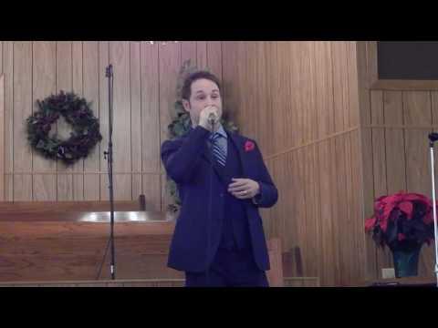Christian Davis sings New Kid in Town