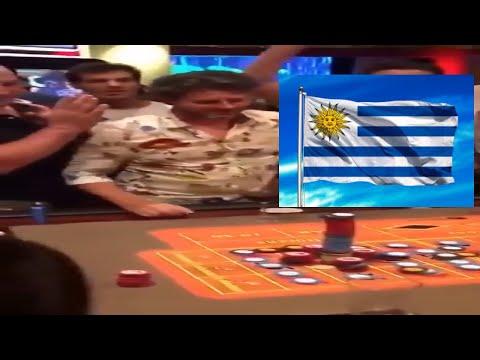 Qué suerte ! este jugador de ruleta gana con el 32 en el Casino Conrad de Punta del Este en Uruguay✅