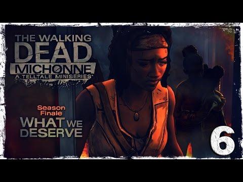 Смотреть прохождение игры The Walking Dead: Michonne. #6: Приготовления к худшему.