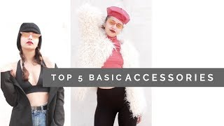 TOP 5 MUST HAVE ACCESSORIES | BASICS | ZARA | FOREVER 21 TEJASWI \ DAY 15