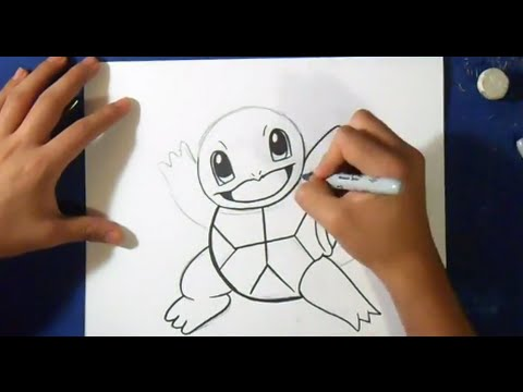 Comment Dessiner Carapuce Pokemon Youtube