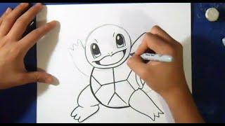 comment dessiner carapuce - Pokémon