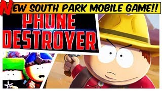 SOUTH PARK: Phone Destroyer - NEW free app - GAMEPLAY of ubisoft Mobile Game IOS