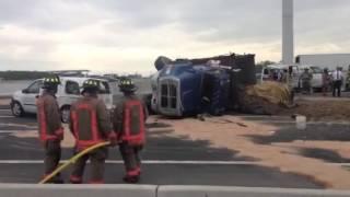 Toronto crash on HWY 401 EB b4 yonge st