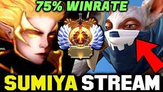 SUMIYA Invoker vs 75% Winrate Meepo Spammer | Sumiya Invoker stream Moment #1241