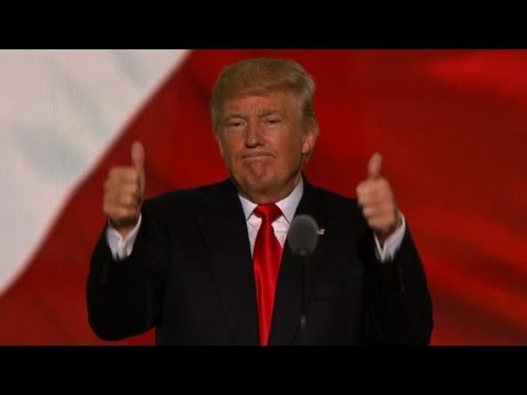 Donald Trump's entire Republican convention speech