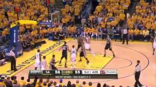 San Antonio Spurs Vs Golden State Warriors - NBA Playoffs 2013 Game 4 - Full Highlights 5/12/13