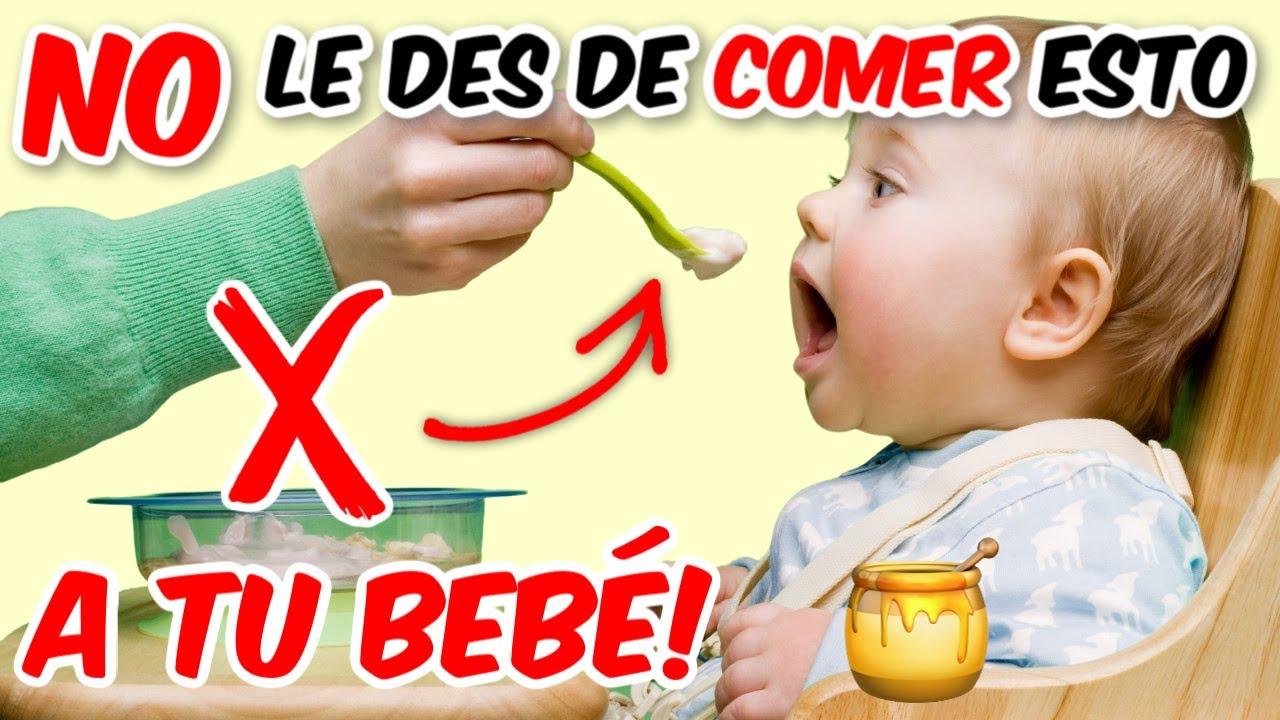 15 ALIMENTOS QUE NO DEBES DARLE A TU BEBE ❌ PODRÍAS PONER EN RIESGO SU SALUD!! | LIEBE MAMI