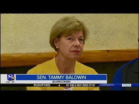 WKBT 7/31: Senator Tammy Baldwin visits Tomah VA