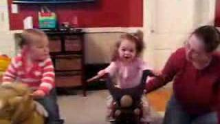 Rocking Horse And Rocking Motorcycle