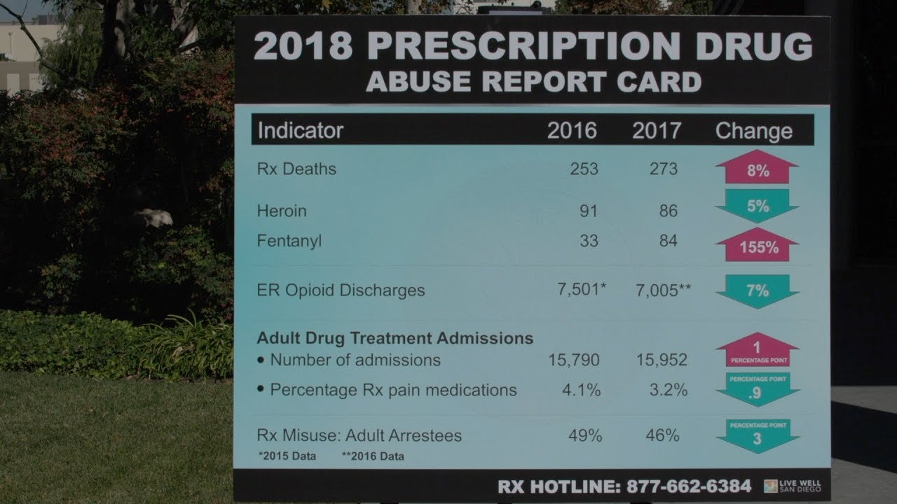 Record Opioid, Fentanyl Deaths Reported in San Diego | News