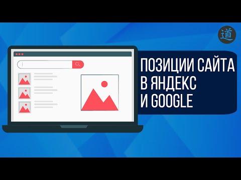 Как определить позиции сайта в яндекс и Google