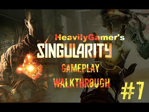 Singularity Gameplay Walkthrough Part 7:Fix The Crane/Autocannon Madness/Rescue Kathryn