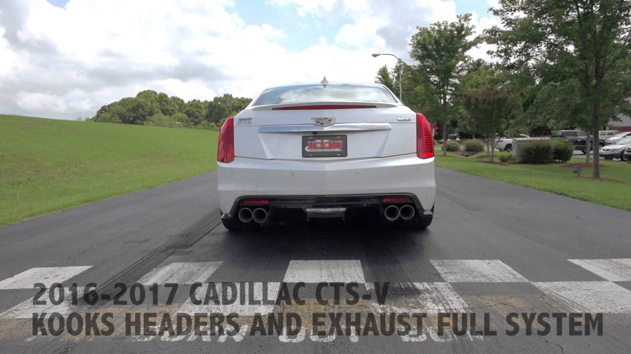 Cadillac CTS-V With Kooks Headers Exhaust   GM Authority