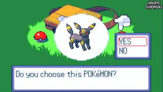 POKEMON SAPPHIRE HACK ROM WALKTHROUGH PART 1 - WHAT WILL BE OUR INITIAL