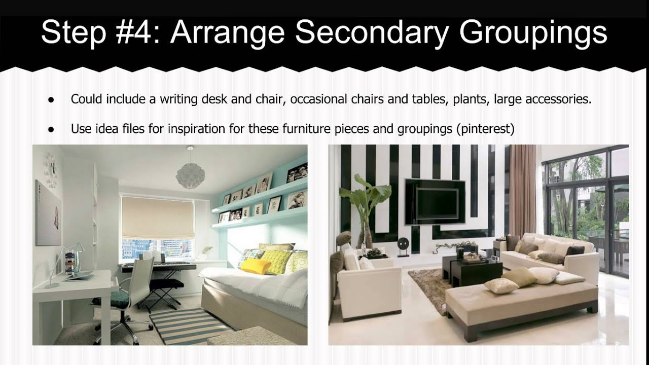 Arranging Furniture Guidelines - YouTube