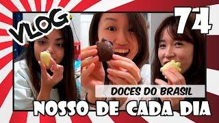 Japonesas experimentando doces do Brasil - Japão Nosso De Cada Dia