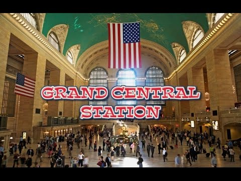 A Walk Around Grand Central Station - New York City (HD)