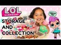 L.O.L. Surprise Dolls Collection, Storage and Organizing - Series 2 Opening!