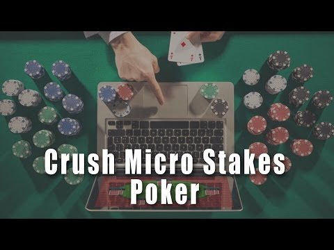 Pre-Flop Raise Bet Sizing | Crush Micro Stakes Online Poker Course