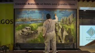 Painting  Process Cementos Argos Cartagena 2018