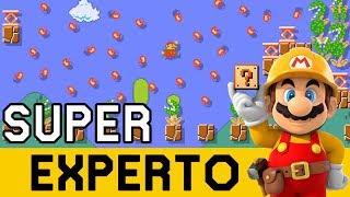 COMPLICARSE LA VIDA SOLO, TÍPICO DE MÍ 😵 - SUPER EXPERTO NO SKIP | Super Mario Maker - ZetaSSJ